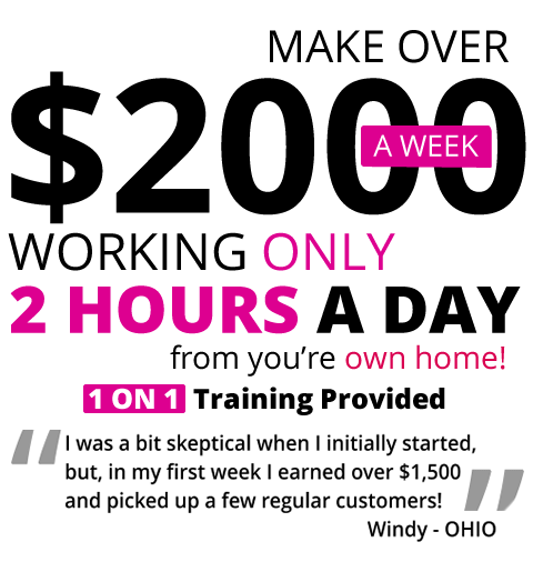Earn 2000.00 a week from home
